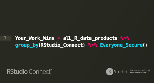 RStudio Connect Version 1.6.4