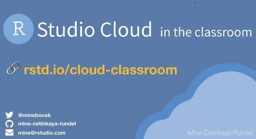 RStudio Cloud in the Classroom