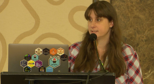 Rproject templates to automate and standardize your workflow - Caroline Ledbetter - Lightning Talk