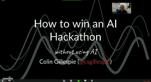 How to win an AI Hackathon, without using AI - Colin Gillespie