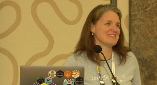 Lessons about R I learned from my cat - Amanda Gadrow - Lightning Talk