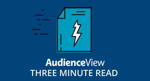 3 Reasons AudienceView Customers are Loving Saveo Scan