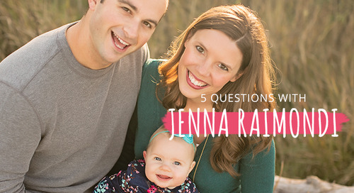5 Questions with Jenna Raimondi