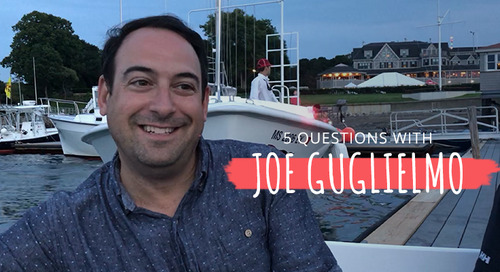 5 Questions with Joe Guglielmo
