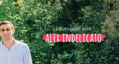 5 Questions with Alex Indelicato