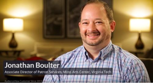 Jonathan Boulter, Moss Arts Center
