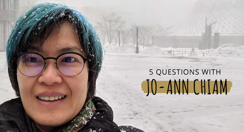 5 Questions with Jo-Ann Chiam