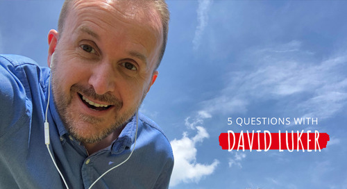 5 Questions with David Luker