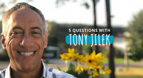 5 Questions with Tony Jilek