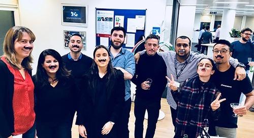 Major Milestone, Movember and Martinis – How European Cornerstars marked the company's 19th anniversary