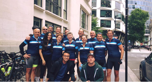 London to Amsterdam - Raising money for Macmillan Cancer Support & NSPCC