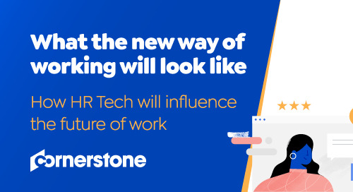 What will the new way of working look like?