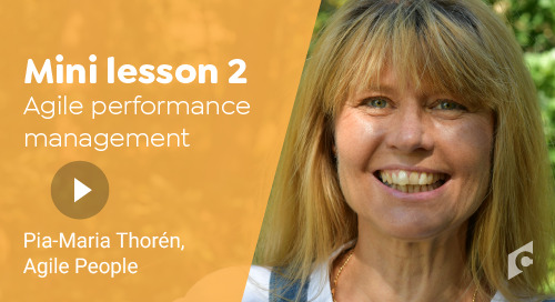 Mini Lesson - Agile performance  management