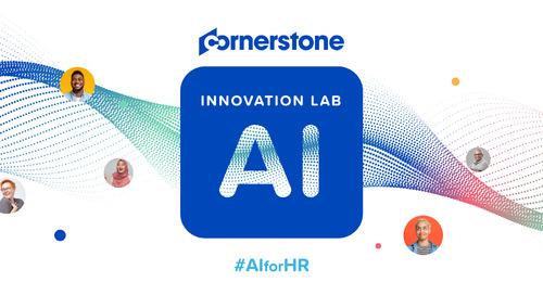 Het nieuwe Innovation Lab for AI van Cornerstone zal de werknemerservaring transformeren
