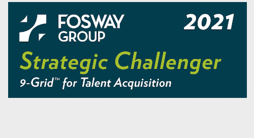 Fosway 9-Grid™: Cornerstone maintains strong offerings in the recruiting space