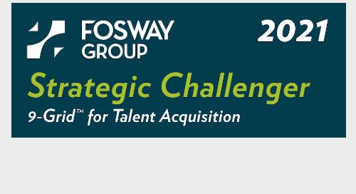 Fosway 9-Grid™ : Cornerstone maintient des offres solides sur le marché du recrutement