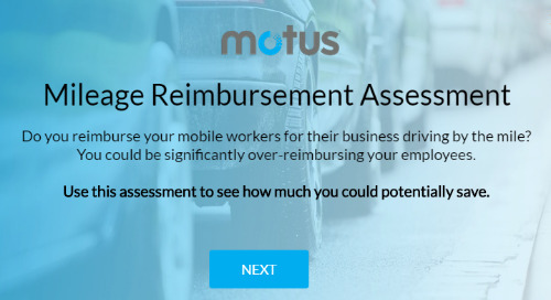 Mileage Reimbursement Assessment
