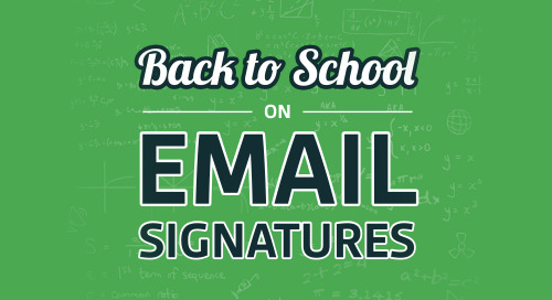 Back to School on Email Signatures