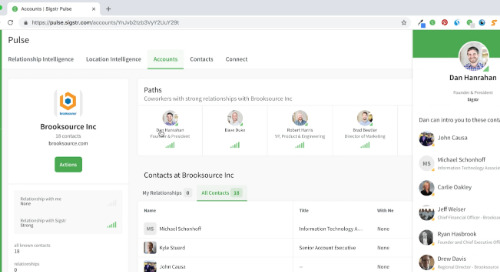 Sigstr Pulse for Salespeople