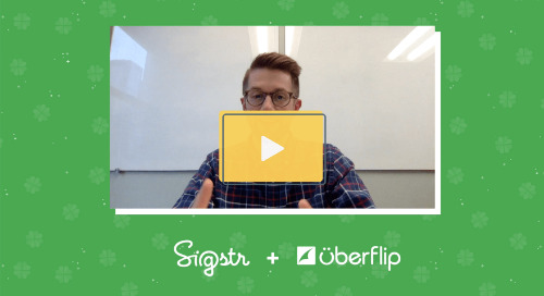 Sigstr + Uberflip Integration Overview: From the Marketer's POV