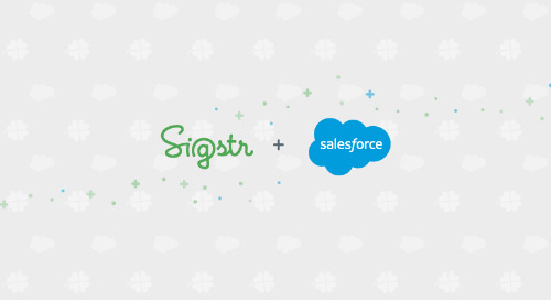 Capture Buyer Intent and Opportunity Analytics with Sigstr's New Salesforce Integration