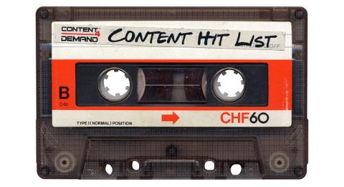 Content 4 Demand's Content Hit List