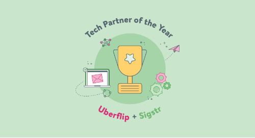 Sigstr Wins Uberflip's Tech Partner of the Year