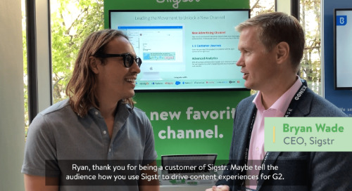 Sigstr Customer Interview: Ryan Bonnici from G2