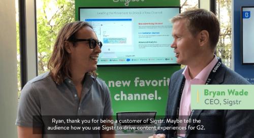 Sigstr Customer Interview: Ryan Bonnici from G2