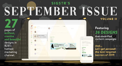Sigstr's September Issue Volume II