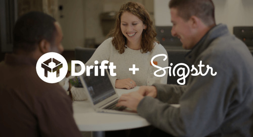 Drift Integrates with Sigstr; Boosts Advanced Targeting