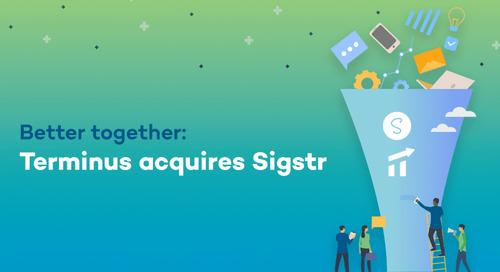 Terminus Announces Acquisition of Sigstr
