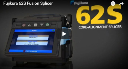 Video: Fujikura 62S Fusion Splicer
