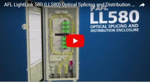 Video: LightLink 580 Optical Splicing and Distribution Enclosure