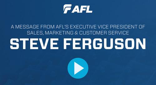 Welcome from Steve Ferguson