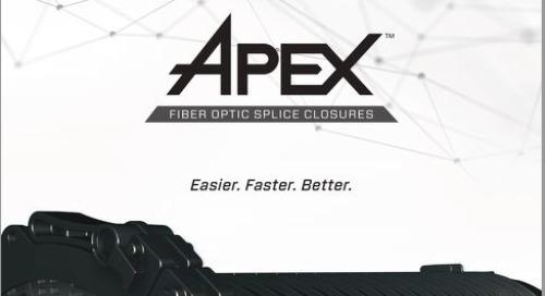 Brochure: Apex™ Fiber Optic Splice Closure