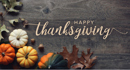 Happy Thanksgiving from the LRN community
