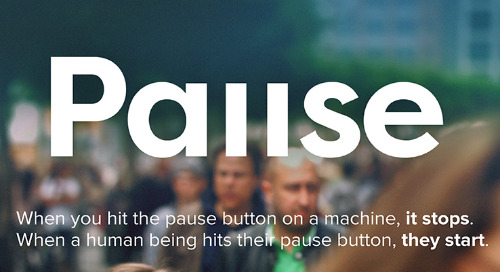 Starting with a Pause—Dov Seidman in Strategy+Business