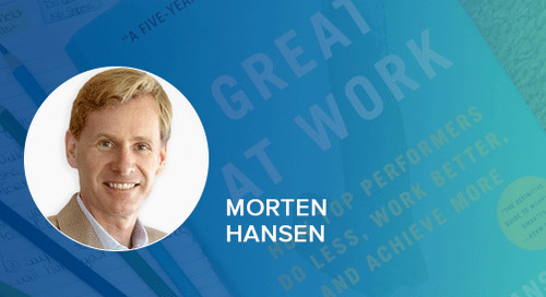 #HOW Matters, Morten Hansen