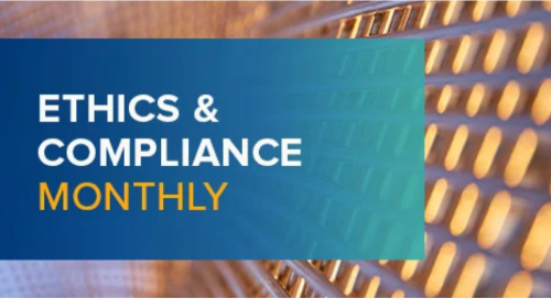 Ethics and Compliance Monthly April