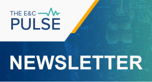 The E&C Pulse - April 11, 2019