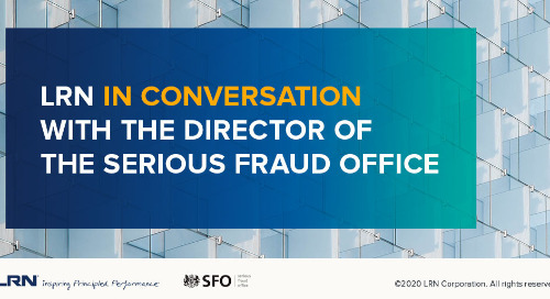 Director of UK Serious Fraud Office Says Company Leaders Need to Listen Keenly to Their Compliance Officers