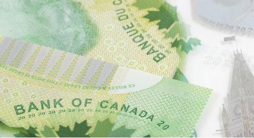 Début d'amélioration des conditions financières : maintien des taux de la Banque du Canada