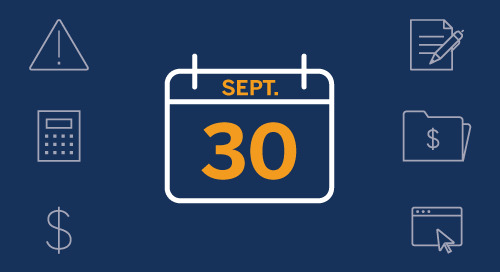 Date limite de paiement de l'impôt : 30 septembre