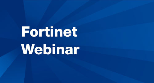 Webinar: Simplify and Strengthen Application Security - Fortinet Managed Rules for AWS