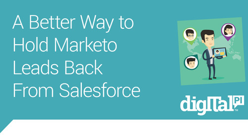 A better way to hold Marketo leads back from Salesforce