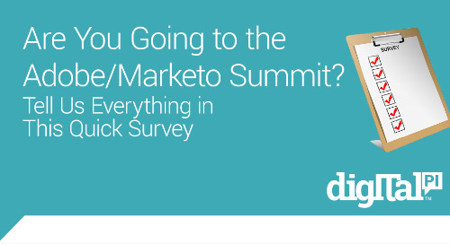 Adobe/Marketo Summit Survey