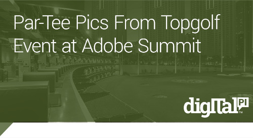 ParTee Pics from Topgolf at Adobe Summit