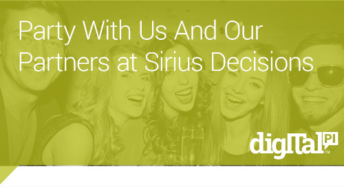 Party With Us at Sirius Decisions