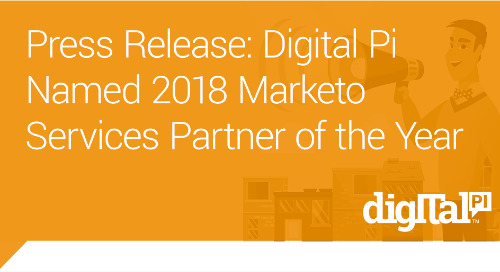 Press Release: Digital Pi Named 2018 Marketo Services Partner of the Year